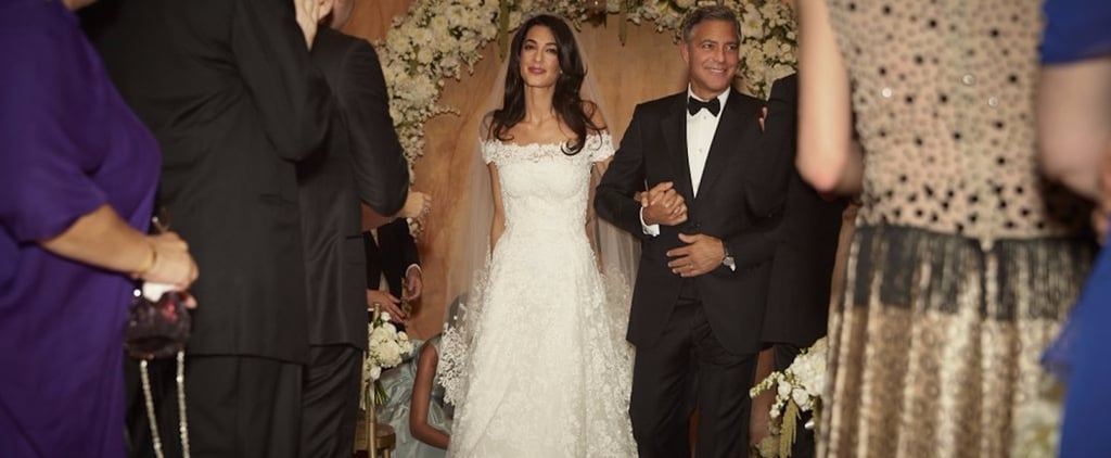 Amal Clooney's Wedding Dress on Display