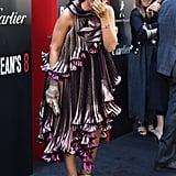 Rihanna's Ocean's 8 Premiere Dress