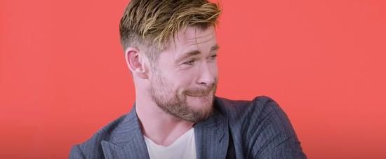 Chris Hemsworth Does Impression of Chris Pratt Video