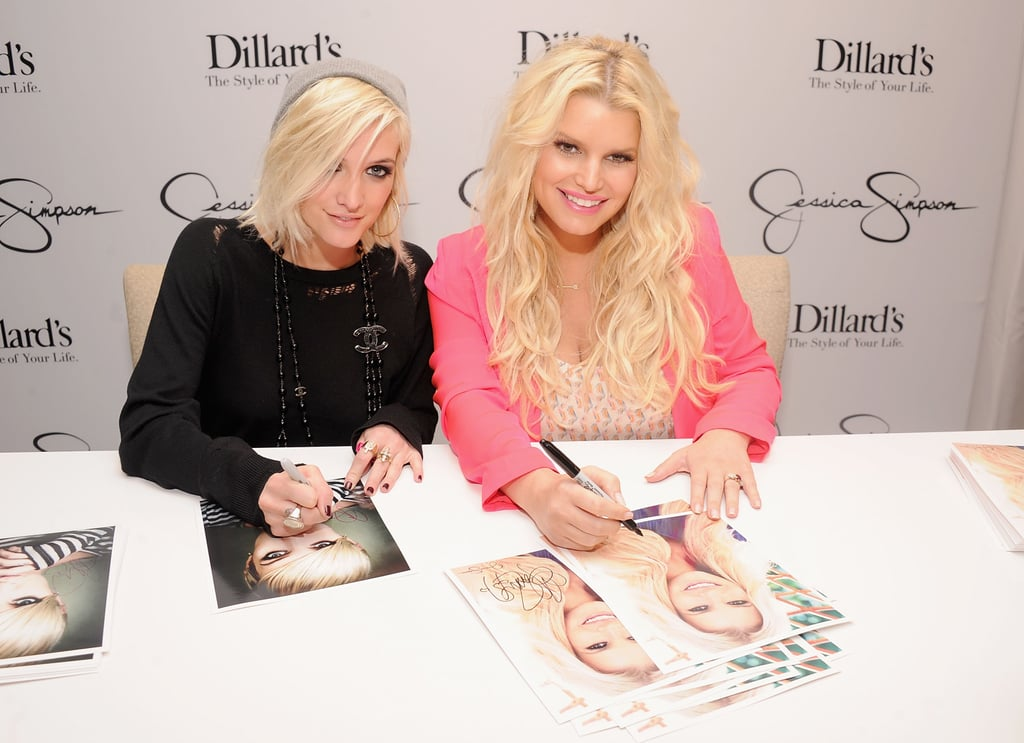 Jessica and Ashlee Simpson Hit the Road With Their Holiday Collection