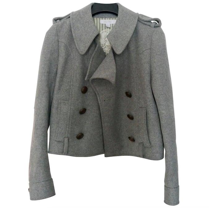 Karen Walker Beige Wool Jacket