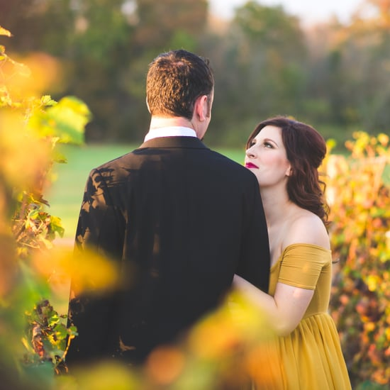 Beauty and the Beast Engagement Shoot