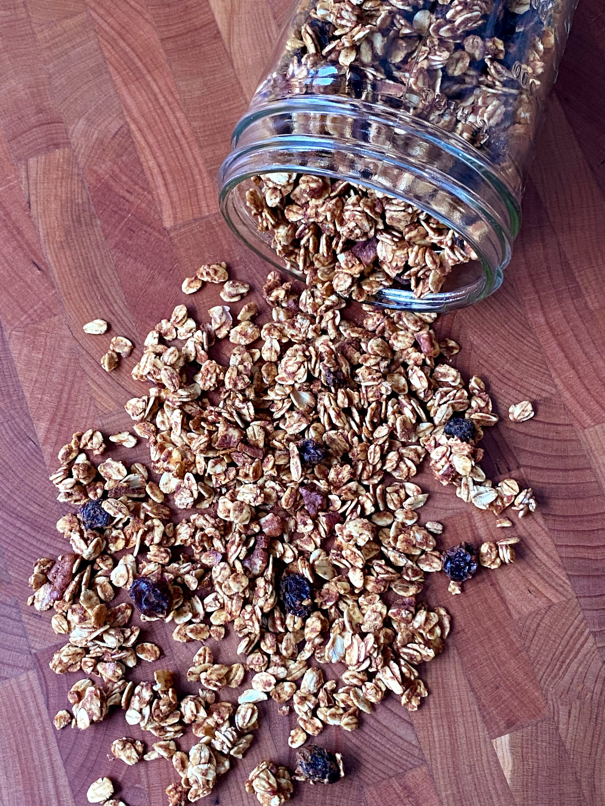 No-Refined-Sugar Low-Fat Granola Recipe | POPSUGAR Fitness 5