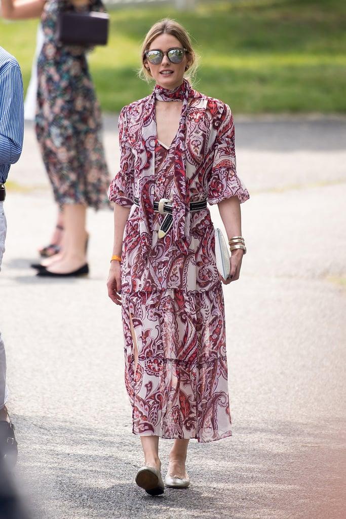 Olivia Palermo Wearing Flats