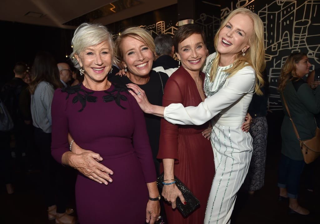 Helen Mirren, Emma Thompson, Kristin Scott Thomas, and Nicole Kidman