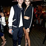 Presley and Kaia Gerber Cute Pictures