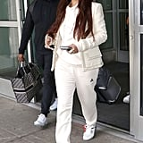 Go For a White-Hot Airport Look
