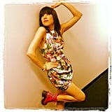 Carly Rae Jepsen struck a pose for the camera.  Source: Instagram user carlyraejepsen