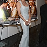Diane Kruger at an NYC premiere.