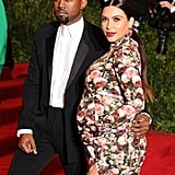 "After wearing Givenchy to the Met Gala in May, Kim spoke to Grazia magazine about the public scrutiny surrounding her maternity outfits: ""This is how I have always dressed, and right now I'm wearing anything that fits. Kourtney warned me that when I got pregnant, people's opinions would be on an all-time high and people would chime in. Now I see what she means!"""