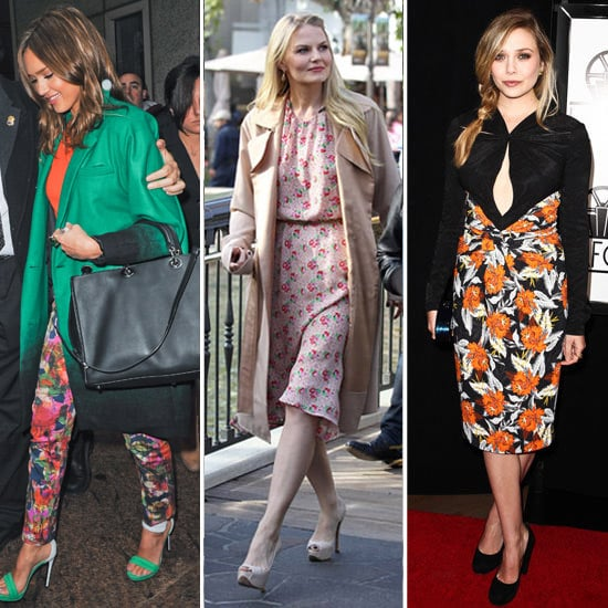 Celebs Show How To Layer Up Florals All Season Round!