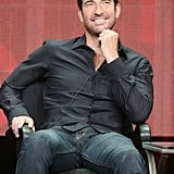 Dylan McDermott took the stage for the Hostages panel.
