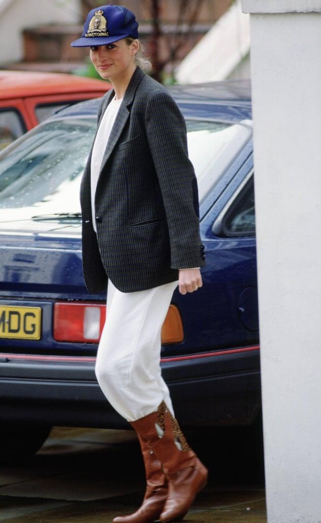 Princess Diana's Shoe Style