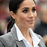Meghan Markle's Ponytails and Smoky Eye