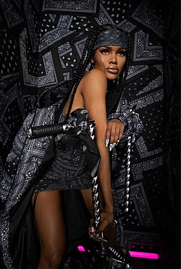 See Teyana Taylor's PrettyLittleThing Collection