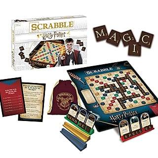 USAopoly Harry Potter Scrabble Game