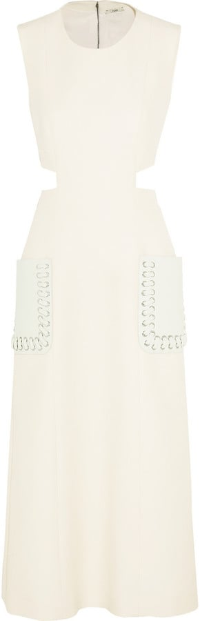 Fendi Leather Paneled Dress ($3,850)