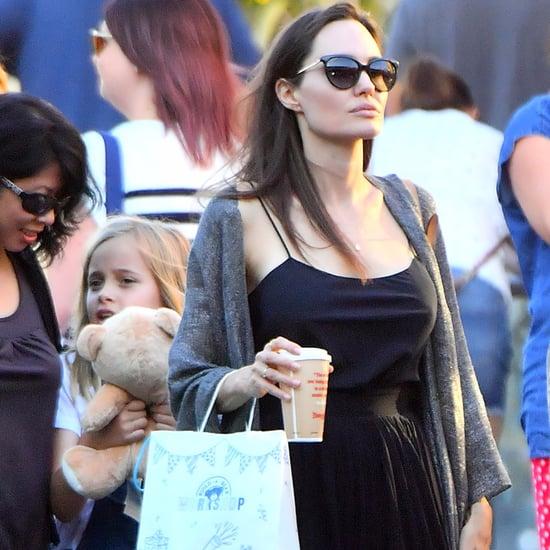 Angelina Jolie Stuart Weitzman Sandals
