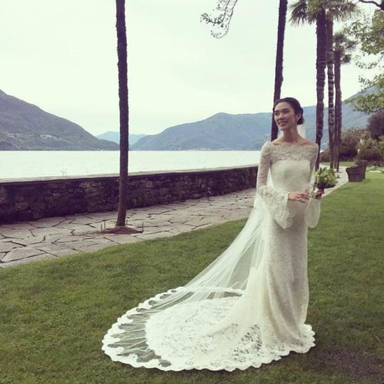 Tao Okamoto Phillip Lim Wedding Dress