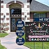 A Kindergarten Graduate Lives Here Yard Sign