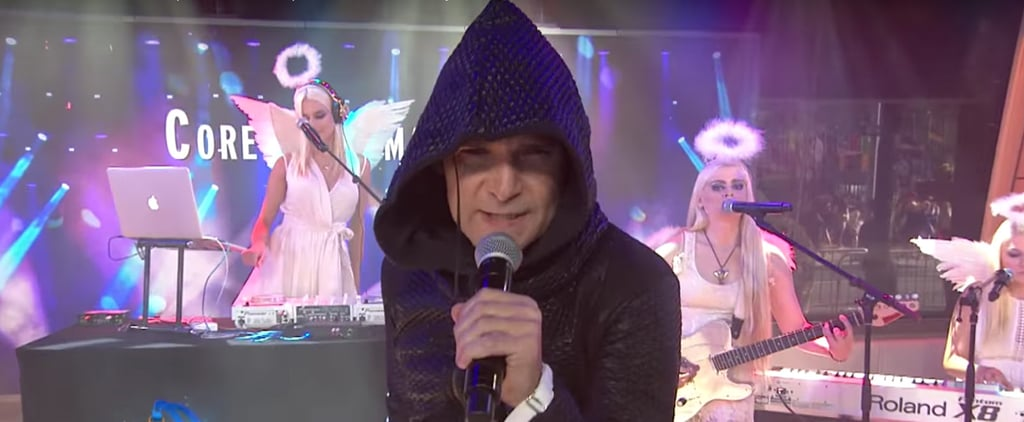 Corey Feldman's Performance on the Today Show Has Gone Viral