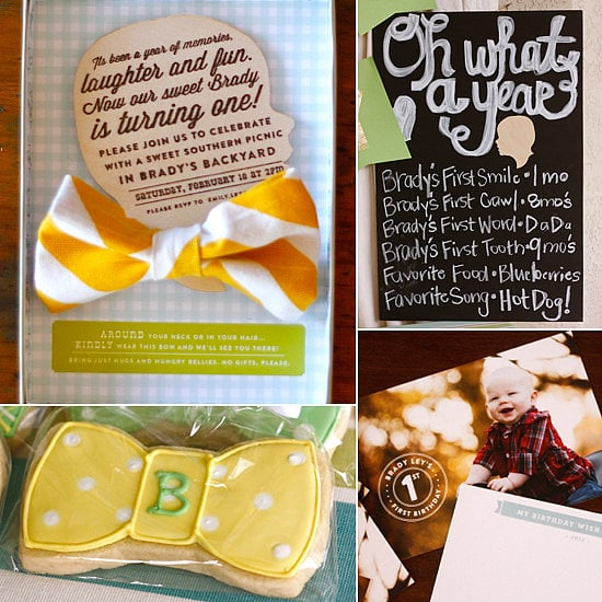 cute as a bow tie first birthday creative first birthday party