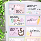 This Easter scavenger hunt printable from Sister's Suitcase includes generic locations that can be found in every house and can be completed indoors.