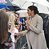 Meghan Markle Greeting a Little Girl in Ireland March 2018