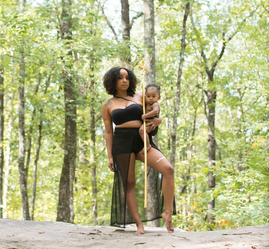 Women of Color Breastfeeding Photo Shoot