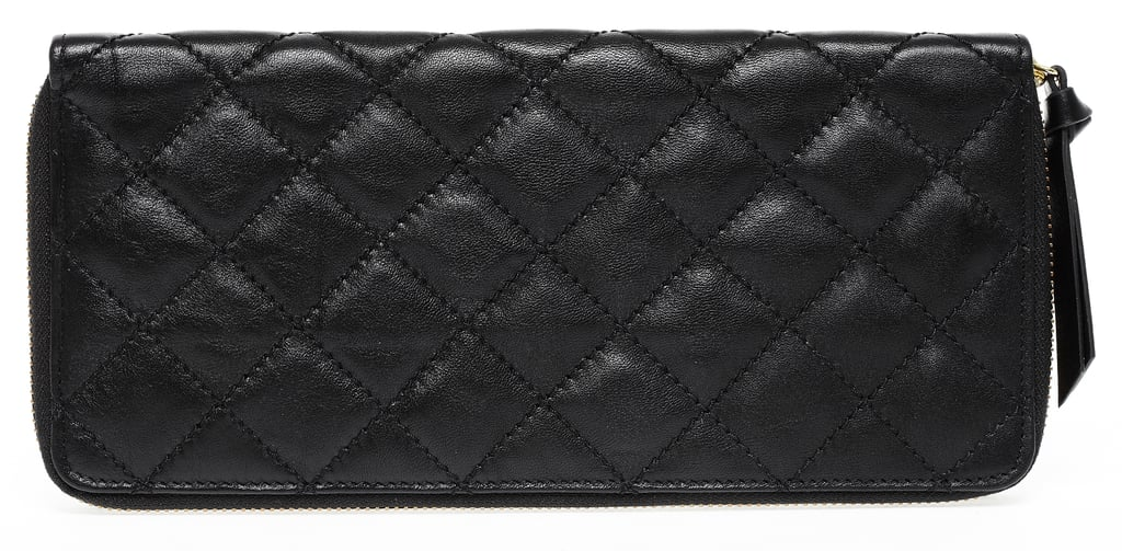 Travel Wallet in Black, $210