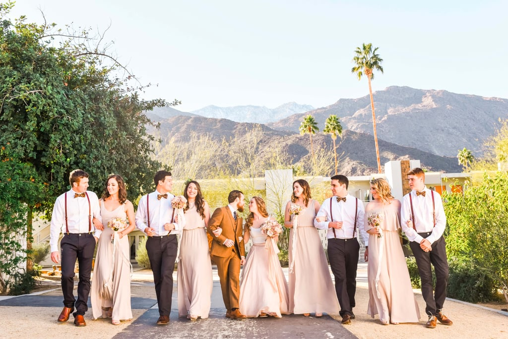 Boho wedding at ace hotel popsugar love sex forget music festivals this diy boho wedding in palm springs looked like the real party junglespirit Image collections