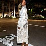 Halima Aden Sports Illustrated Miami Swim Week Dress