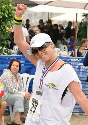 Mama Lopez Gets Mad Props For Her First Triathlon