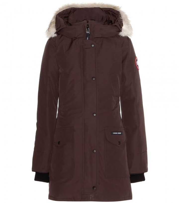 Canada Goose Trillium Down Jacket With Fur-Trimmed Hood ($1,018)