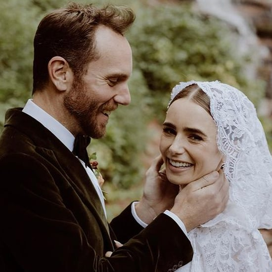 See Lily Collins and Charlie McDowell's Wedding Pictures
