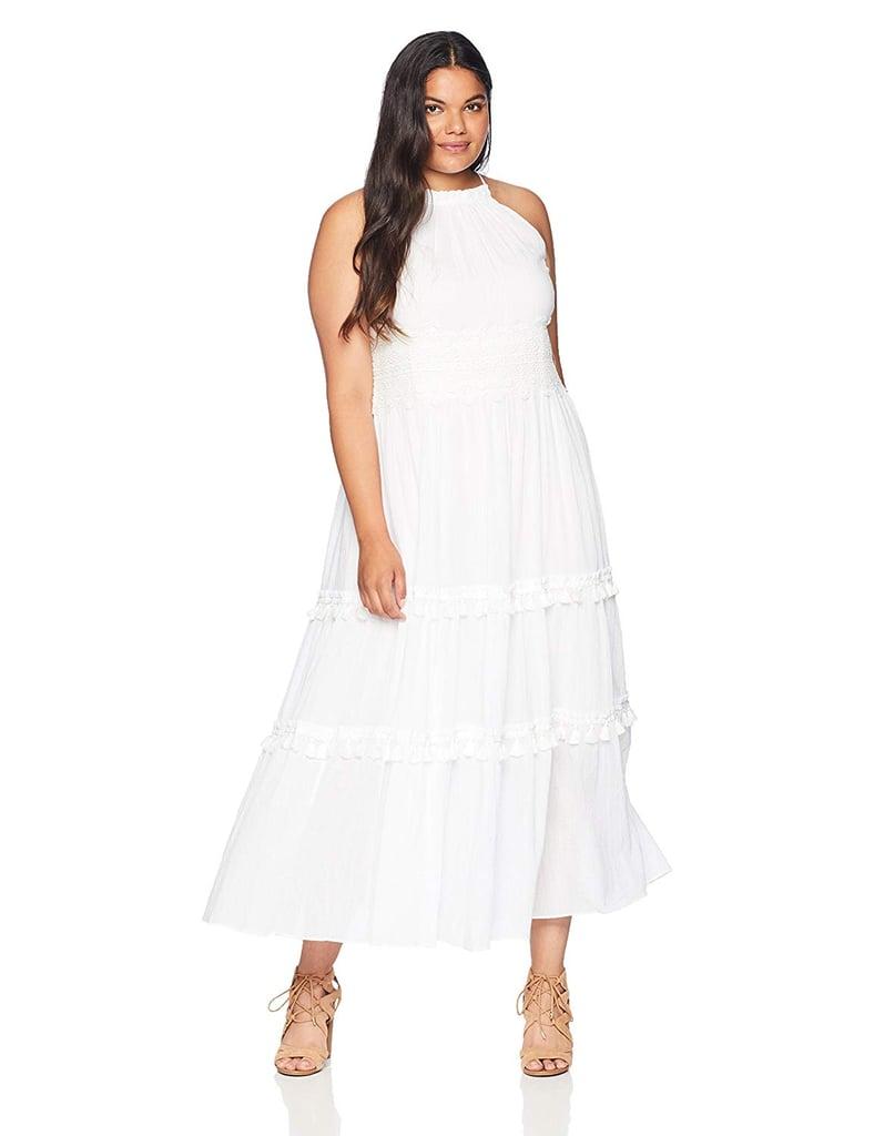 Eliza J Women\'s Plus Size Halter Maxi Dress   Victoria ...