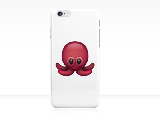 Octopus Emoji Phone Case ($26)