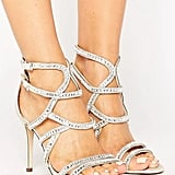 Call it Spring Eymard Embellished Strap Heeled Sandals