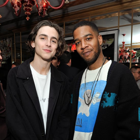 Timothée Chalamet Recites Kid Cudi Lyrics at His Show