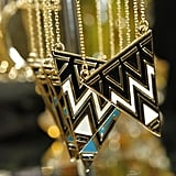 Gorgeous geometric jewels with a hint of Egyptian inspiration.