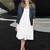 Ana Girardot posed at Chanel.