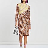 House of Holland Vivid Panelled Twist Midi Dress ($265)