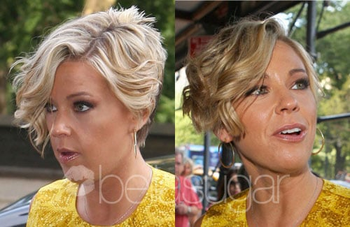 Pictures of Kate Gosselin's Curly Hair
