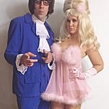 Austin Powers and a Fembot