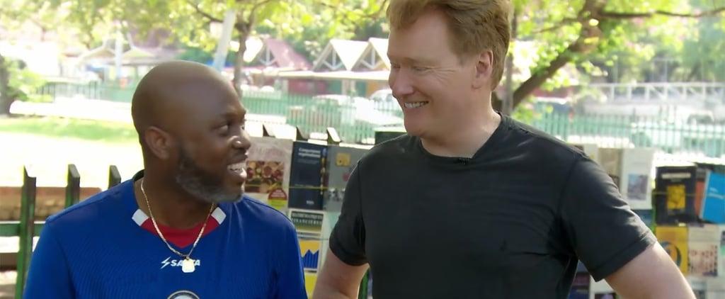 Haitians Insult Donald Trump in Conan O'Brien Clip