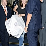 Jennifer Garner Leaving NYC With Baby Samuel | Pictures
