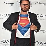 Scott Disick as Clark Kent