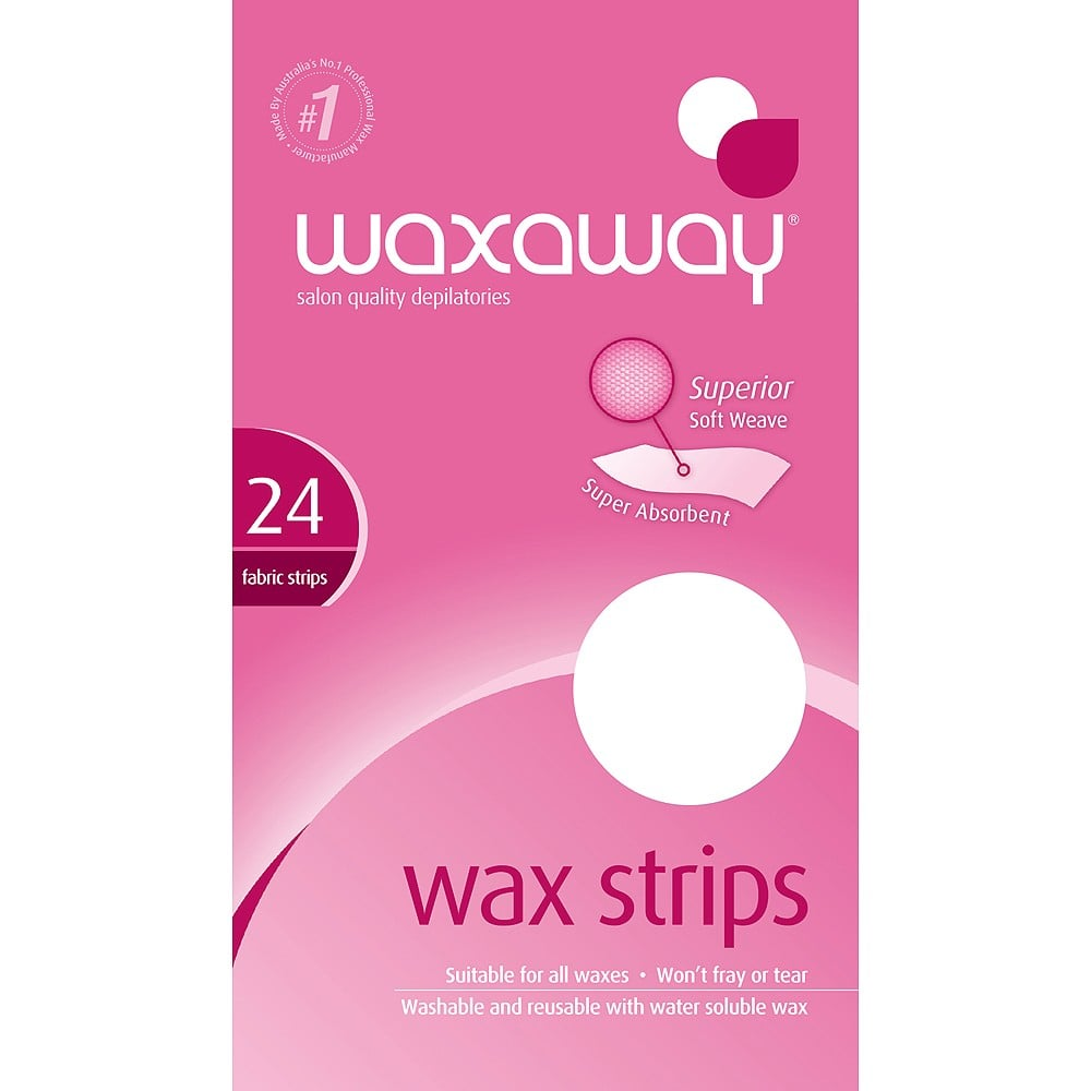Waxaway Re-Usable Strips