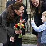 When Kate Encountered an Adorable Little Admirer