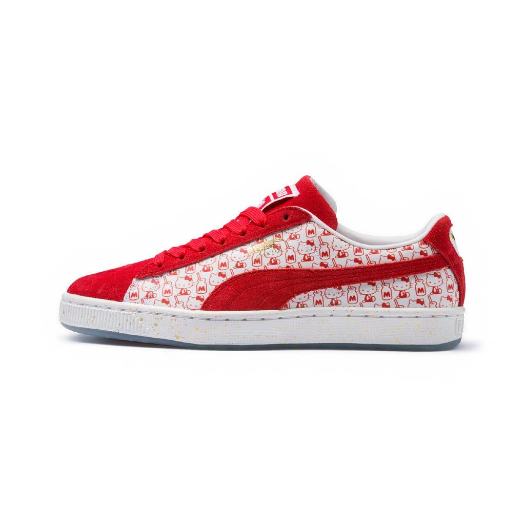 """حذاء """"سويد كلاسيك"""" PUMA x Hello Kitty (قياس كبير)، بسعر 410 دراهم إماراتيّة"""